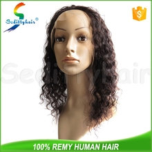 Deep Wave human hair ladies wigs mumbai with affordable prices
