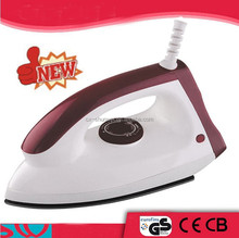1000W electric iron heavy duty dry iron/solar flat iron