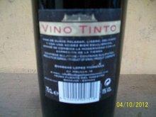 WINE VINO TINTO 12 IN A CARTON 6,000