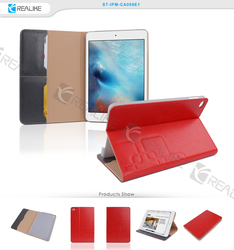 China manufacturer case for apple ipad mini 4, stand leather case for ipad mini