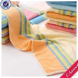 Wholesaler custom beach towel, 70% bamboo fiber 30% cotton hotel bath towel fabric, travel baby face towel