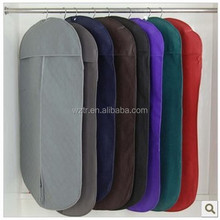 keep your clothings clean non woven suit cover/garment bag