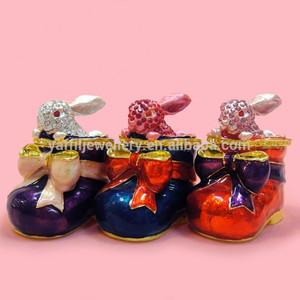 кролик брелок box, кролик чистка форме коробки подарка
