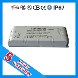 triac dimmable constant voltage LED driver 60W, LED strip driver 60W dimmable, LED strip power supply dimmable 60W