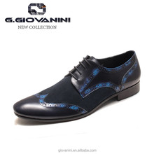 Italian design cow leather luxury brand man oxford dress shoes boys shoe wholesale