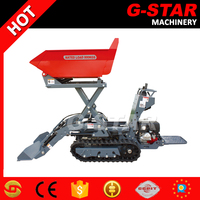 Chinese manufacture high performance crawler tractors with front end mini loader