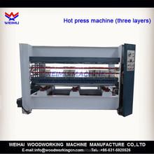 120 ton hydraulic hot press machine for wood 3 layers