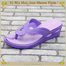 Bedroom Or Indoor Leisure Slipper Black Color Ladies High Heel Indoor Slippers