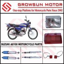 Suz. AX100 Motorcycle head light, tail light, winker lamp
