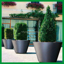 FO-9042 stainless steel flower pot/planter with cone shape