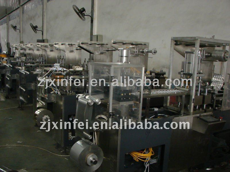 DPP-250 alu alu blister machine