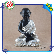 SGB331 Polyresin Craft Chinese Nice Laughing Buddha Carving Statue