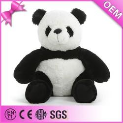 Top quality factory custom cute fluffy soft giant panda plush toy