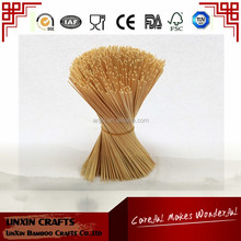 For temple incense stick 100PCS/Lot any size According to customer requirements Natural Wooden bamboo stick needle natural round