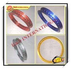 Factory direct selling wholesale Chinese motorcycle alloy rim for various models motorcycle alloy rim