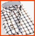 2015 últimas camisa formal diseños para hombre