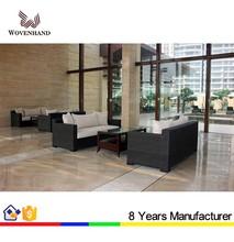 New design rattan luxury sofa outdoor furniture