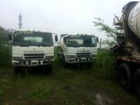 MITSUBISHI used concrete mobile mixer/concrete truck mixer