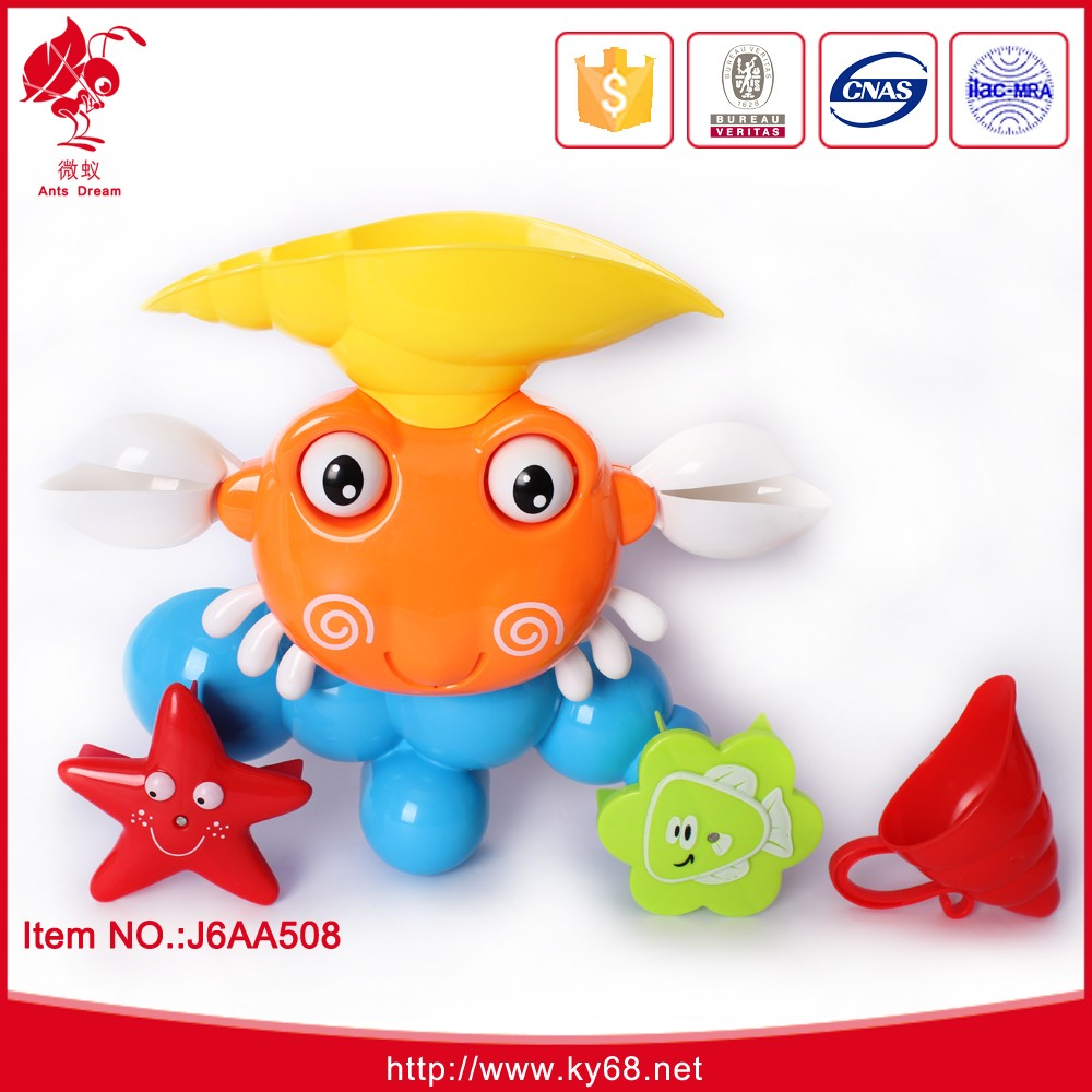 Wholesale Unique Toy Gift Bath Toy Plastic Crab Bath Toys For Adults ...