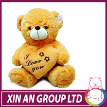 ICTI and Sedex audit new design EN71 teddy bear with love heart toy