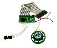 voice recording module,music sensor chip for greeting card,toy and gift