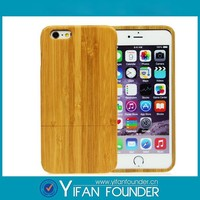 Retail packing wooden mobile case , pure wood case for iphone 6 plus , new arrival wooden case