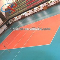 PVC Plastic Volleyball Sports Court Flooring