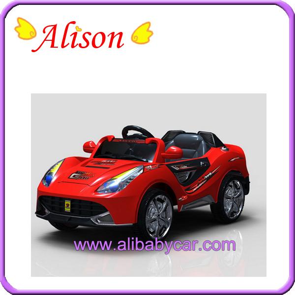 Alison date racing modèle C01908 automatique électrique r / <span class=keywords><strong>c</strong></span> enfants tour sur la voiture de sport pour garçon 2 - 5 anos
