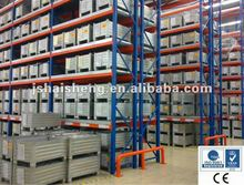 China supplier horizontally adjustable metal storage racks warehouse pallet racking systems