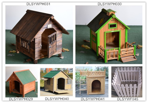 Cheap Outdoor Decorative Wooden Dog House/Dog Kennel/Wooden Pet House