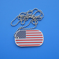 heart USA flag shape metal lapel pin badges for America national day, engrave iron pin badges