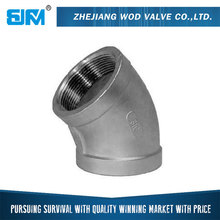 Galvanized 45 degree Elbow Female Malleable Iron Pipe Fitting