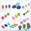 2015 Hot sale BPA free food grade silicone beads baby teether