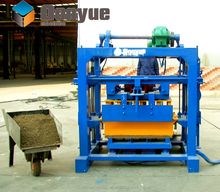 Hot selling QT40-2 small concrete and cement brick machine for myanmar