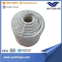 Top grade 6 strand atlas pure nylon monofilament rope/hawser/mooring rope 40-96mm