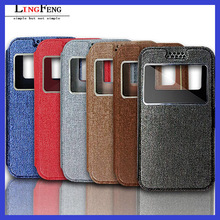 "3.5""-6.0"" leather universal flip phone case for mobile phone"