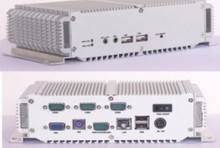 Rugged all in one industrial pc LBOX-270