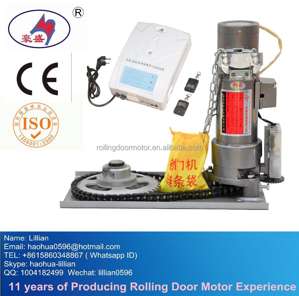 Jmj412 4 2 dc 600kg roller shutter motor rolling door for Garage door opener dc motor