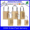 Wholesale top security luggage digital brass padlock cjsj padlock factory direct sale