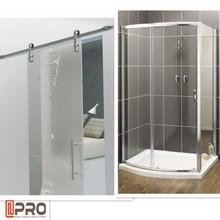 Square Sliding Shower Room obscure glass bathroom door