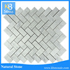 High Quality white Carrara kitchen backsplash marble mosaic for sale