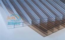 polycarbonate swimming pool cover, transparent plastic roof