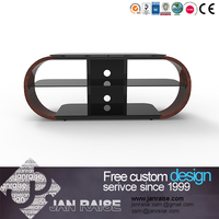 High quality universal modern metal and mdf tv stand