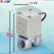 VX210EA Direct Operated 2 Port Solenoid Valve for Air,gas, vacuum, water, steam and oil