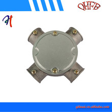 waterproof outdoor round aluminum alloy junction box