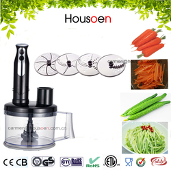 800w/400w smart electric hand blender with mini chopper