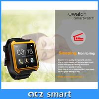 Android Smart Watch with 1.54 Inch Screen Dual Core CPU Bluetooth 4.0 Wi-Fi smart watch water proof watch phone
