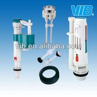 Toilet tank dual flush valve fittings made in Xiamen China