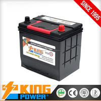 Electric Car Battery 12V60AH 55D23L MF
