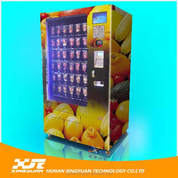 Fresh fruit and milk vending machine with high quality